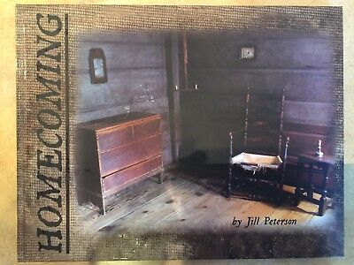Homecoming book By Jill Peterson A Simple Life 2010 Primitive Country NEW