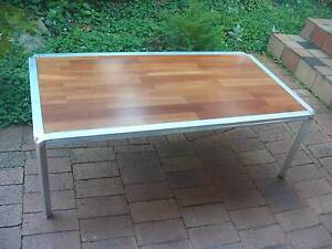 Large Size Coffee Table -Steel Frame, Timber Top Cherrybrook Hornsby Area Preview