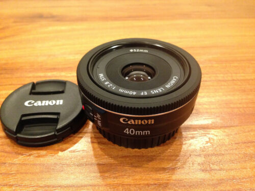 Canon EF 40mm F/2.8 STM Lens - Only Used Once for Testing Purpose