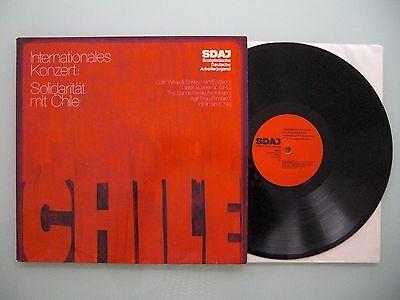 Various - Internationales Konzert: Solidarität Mit Chile, D', LP, Vinyl: vg+