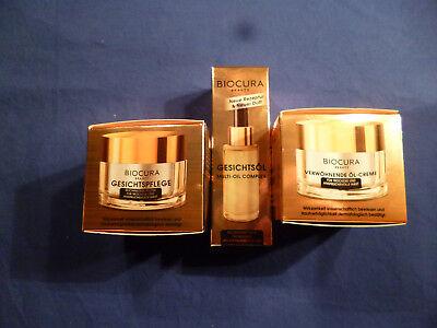 50 Ml Gesichtspflege (Biocura; Gesichtöl (á 30ml); Gesichtspflege od. Verwöhnende Öl-Creme (á 50 ml))