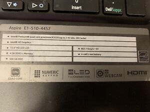 Acer aspire 15 inch laptop