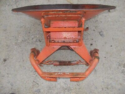 Case Vac14 Vac 14 Tractor Original Deluxe Easy Rider Seat Assembly Pan