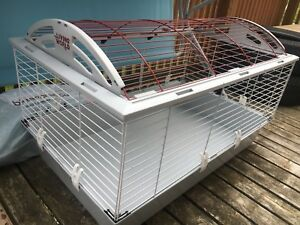 Cage for small animal+ few accessories+shavings