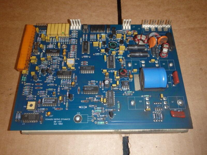 SERVO DYNAMICS SDFP1525-17-185 DC FET MODULE _ SDFP152517185