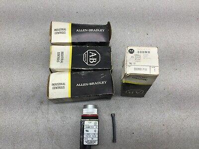 New In Box Lot Of 4 Allen Bradley 120vac Small Oil Tight Pilot Light 800mr-p16