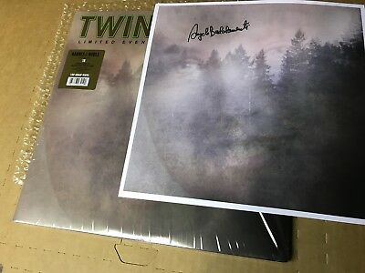 Super Rare Twin Peaks  Limited Event Series Soundtrack Vinyl Badalamenti Signed