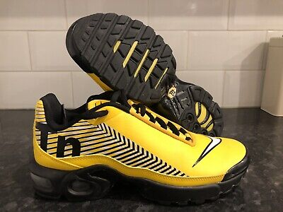 Nike Air TN  trainers -Yellow size 6-in Fantastic Condition