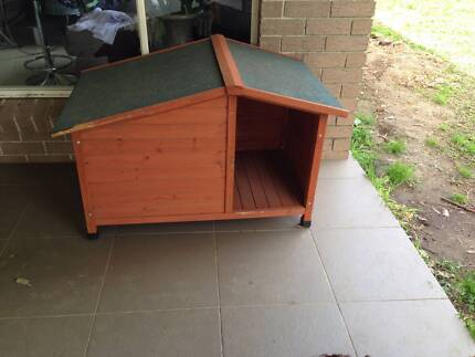 Solid Timber Dog Kennel North Ryde Ryde Area Preview