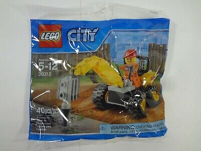 LEGO City (30312) Demolition Driller Exclusive Retired FREE Shipping