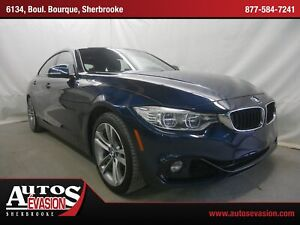 2015 BMW 428i xDrive GRAND COUPÉ + GPS + SHIFT PADDLE + CUIR