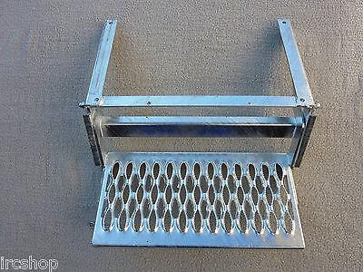 Einstiegshilfe Wohnmobil - Trittstufe ausziehbar - feuerverzinkt - 1-stufig