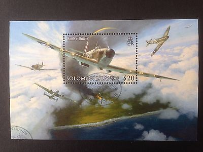 Solomon Islands 2008 Battle of Britain Royal Air Force SG MS1237 Fine Used