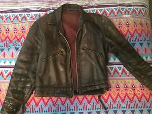 Retro leather jacket Kuluin Maroochydore Area Preview