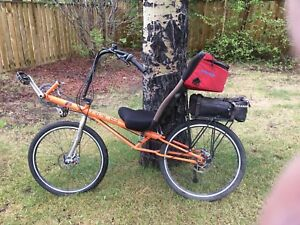 Recumbent bicycle