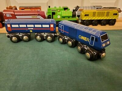 Toys R Us Imaginarium Wooden BR Class 43 GNER HST WORKS WITH THOMAS VGUC