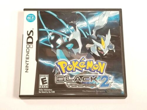 Pokemon Black Version 2 Case  ONLY!! (DS) *US VERSION*