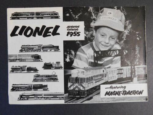 Original 1955 Lionel Electric Trains Advance Catalog 19pgs. VGC Gary Nelson Coll