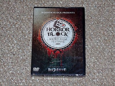 Horror Block Rue Morgue Short Film Festival 2015 Dvd Brand New Factory Sealed