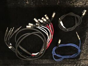 TRS to XLR SPLIT Insert Snake // TRS to XLR Cables