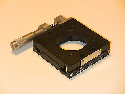 Newport 426a Precision Linear Translation Stage With Sm-25 Micrometer