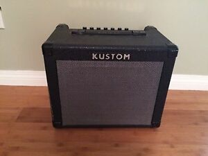 Kustom guitar and keyboard amp