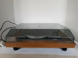 Vintage Stereosound Productions record player turntable with BSR Deck