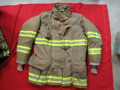 Mfg. 2013 Globe Gxtreme 46 X 35 Firefighter Turnout Bunker Jacket Fire Rescue