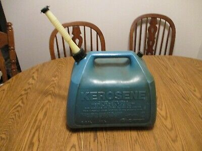 Gott 5 Gallon Kerosene Can Rubbermaid Plastic Vented Old Style Gas Can Jug