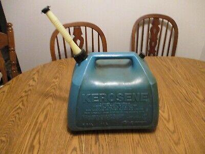 Gott 5 Gallon Kerosene Can Rubbermaid Plastic Vented Old Style Gas Can Jug