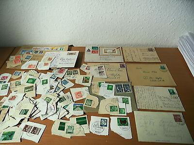 Verkaufe ein Konvolut von alten Briefmarken