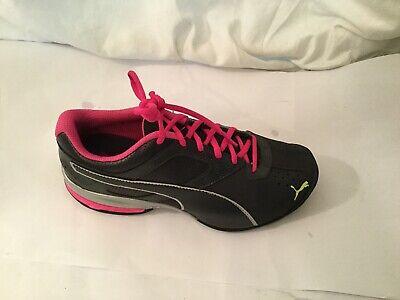 Puma Gray/Pink Soft Foam Insert Optimal Comfort Women Shoes  sneaker Size 7