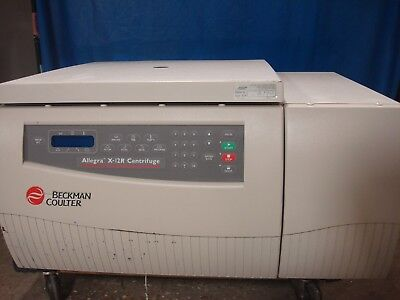 Beckman Coulter Allegra X-12r Benchtop Refrigerated Centrifuge Sx4750 Rotor