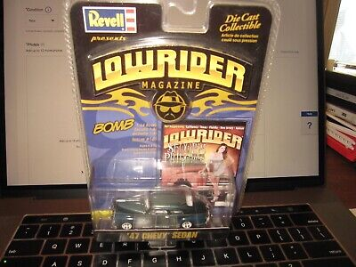 Revell Lowrider Magazine BOMB ''47 Chevy Sedan Die Cast Collectible 169 RARE
