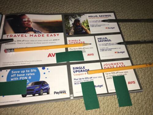 Car Rental Savings Avis Budget Payless Coupons Coupon - $3.39