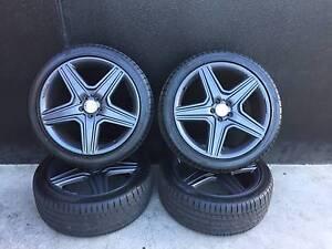 SECONDHAND Mercedes ML 21 Inch Wheels + Tyres Preston Darebin Area Preview