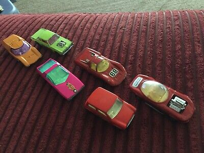 Vintage Matchbox Lesney - Lot of 6 - Racing Cars Mini Hot Rod Porsche