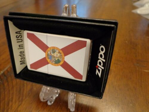 FLORIDA STATE FLAG SERIES ZIPPO LIGHTER MINT IN BOX