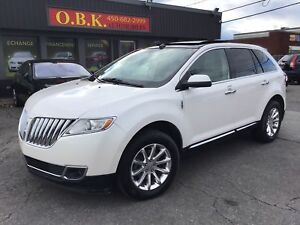 2011 Lincoln MKX TOIT PANO-AWD-CAM RECUL-CUIR-