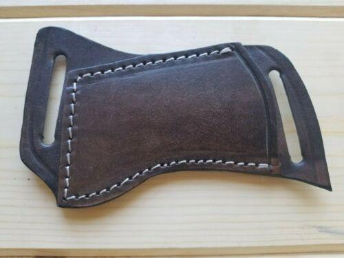 Leather Knife Sheath for Buck 110 & Similar Folding Knives Horizontal Carry FS11