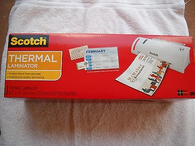 Scotch Thermal Laminator 3m Model Tl-902