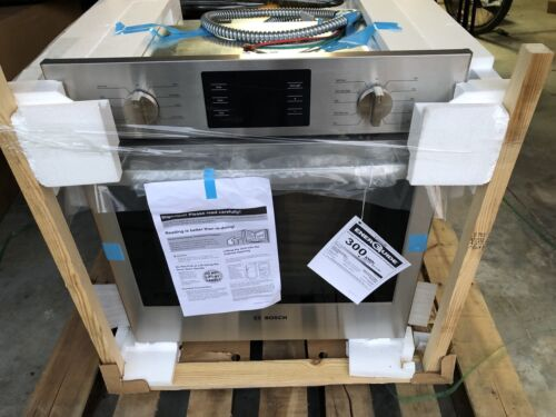"NEW Bosch 27"" Single Wall Oven  3.9 CF Convection Stainless"