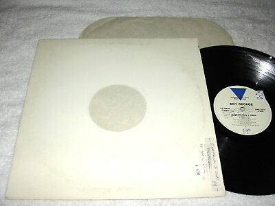 Boy George  Everything I Know   Use Me   1988 Pop Dance  12  Single  Nice Vg