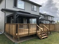 Deck supply and install