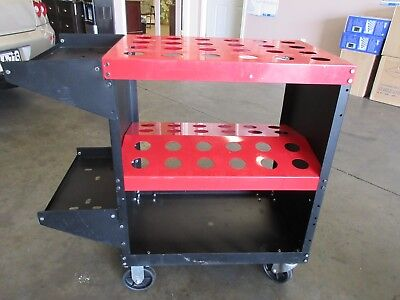 Huot Cnc Toolscoot Tool Cart For 40 Taper Tool Holders Slot Free Shipping