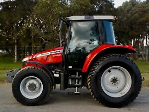 Late Model 2014 Massey Ferguson 5440 Dyna 4 Agricultural Farm Tractor 101hp Austral Liverpool Area Preview