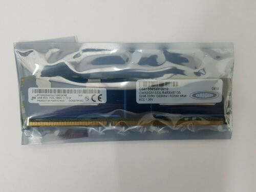 Origin 32GB DDR3 4RX4 PC3L-12800L Server RAM OM32G31333LR4RX4E135