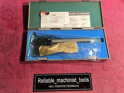 Nos Mitutoyo Digital Japan Made 6 Inch Groove Caliper Machinist Tools