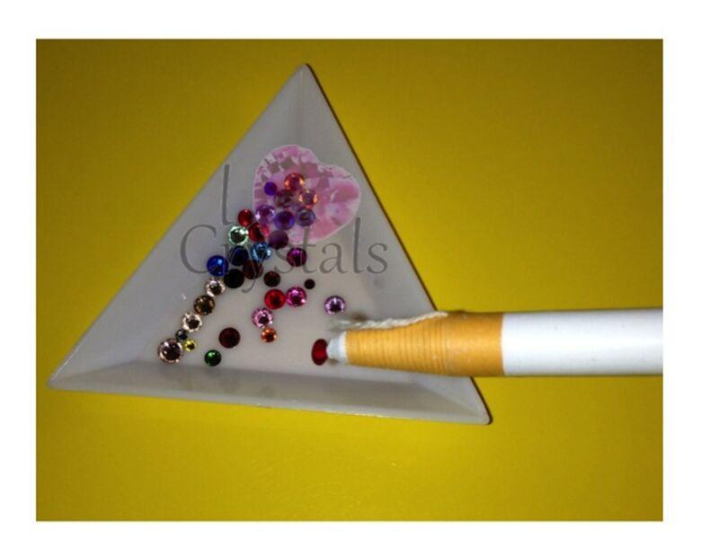 Wax Grease Pencil Rhinestone Stick Pick Up Tool Beads Flatbacks Crystal Nail Art