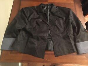 Cosplay Plus Size black school jacket (size: 1x)